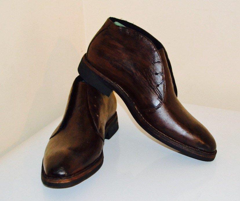 ботинки, кожа теленка