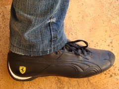 Puma Future Cat Gt Ferrari Black Shoes (2)