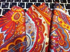 Карманный платочек из шелка