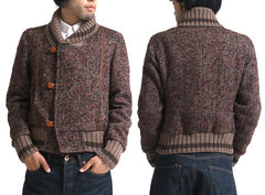 kolor tweed jacket