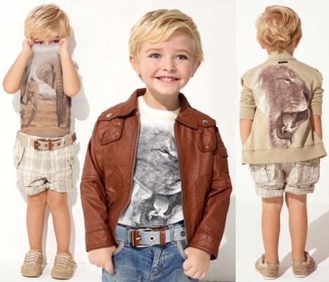 На фото Детская мода 2012. Модная детская одежда Dolce&Gabbana.