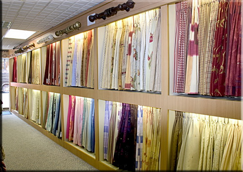 Дизайн магазинов тканей