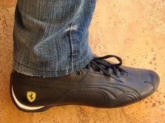 Puma Future Cat Gt Ferrari Black Shoes (2)